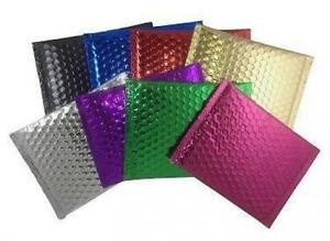 Case Of 200 Gold 7 X 5 75 Bubble Envelopes Bubble Mailers Blingvelopes