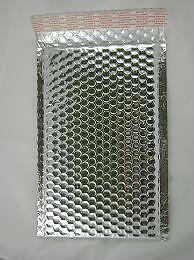 Case Of 200 Silver 6 5 X 10 5 Bubble Mailers Bubble Envelopes