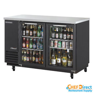 Turbo Air Tbb 2sg n 58 Double Glass Door Back Bar Cooler