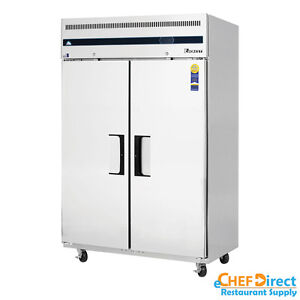 Everest Esf2 49 Two Door Reach in Freezer