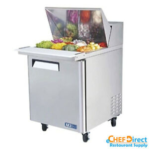 Turbo Air Mst 28 12 n 28 Single Door Mega Top Sandwich Prep Table