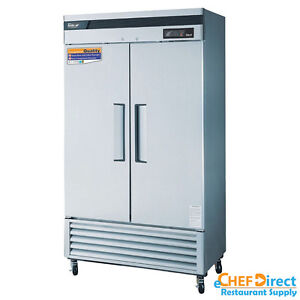 Turbo Air Tsr 35sd n Super Deluxe 39 Double Door Reach in Refrigerator