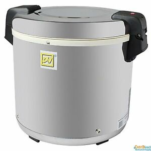 Tarhong 50 Cup Stainless Steel Electric Restaurant Rice Warmer