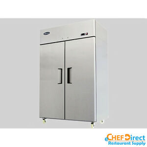 Atosa Mbf8005 T Series 52 Two Door Reach In Refrigerator