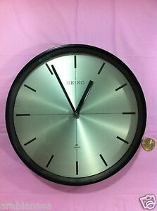 Seiko Quartz Ship S Clock Metal And Brass Seikosha Inc Japan