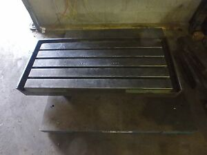 49 1 8 X 21 1 2 X 5 5 Steel Welding 4 T slotted Table Cast Iron Layout Plate