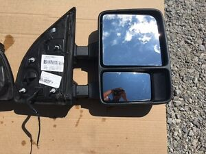 08 16 Ford Superduty Manual Tow Mirror passenger Oem