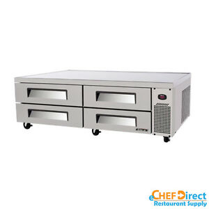 Turbo Air Tcbe 82sdr n Super Deluxe 84 Four Drawer Chef Base