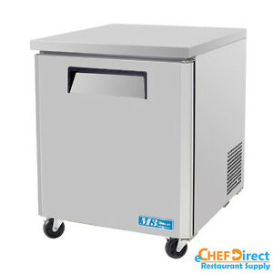 Turbo Air Muf 28 n 28 Single Door Undercounter Freezer