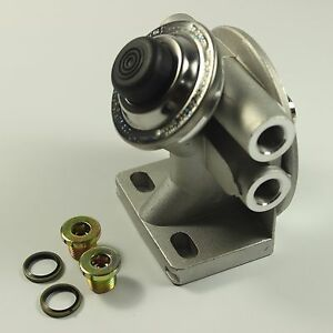 Diesel Fuel Filter Mounting Base Hand Priming Pump 3 8 Npt 1 14 Spin On Mount