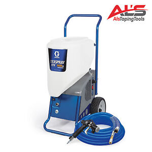 Graco Texspray Rtx 1400si Portable Drywall Texture Sprayer New