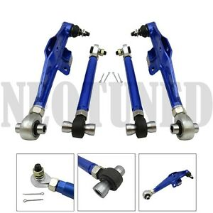 Blue Fits 95 98 240sx S14 Adjust Front Lower Control Arm Ha High Angle Tension