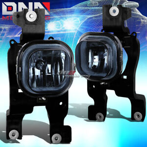 For 08 10 Ford Superduty Truck Truck Smoked Tinted Oe Bumper Fog Light Lamp bulb