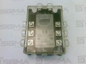 Crouzet Ga3 12d10r 84028251 3 Phase Solid State Relay