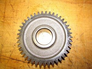 International 574 Tractor Syncro Mesh Transmission Gear 41 Tooth 25 Tooth