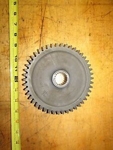 International 574 Tractor Syncro Mesh Transmission Gear 46 Tooth 18 Spline