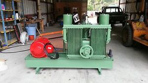 200 Cfm Westinghouse Air Compressor