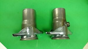 3 Header To 2 5 409 Stainless Socket W 02 Bung 2 Bolt Header Collector Reducer
