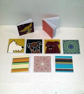 Lot Of 36 Pieces Assorted 3 X 3 Mini Journal Lined Notebooks