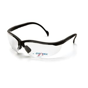 Lot Of 3 Safety Glasses Pyramex V2 Readers 2 5 Clear