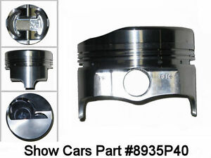 348 Chevrolet Impala Bel Air 58 59 60 61 Icon Forged Pistons 040 Over 4 165