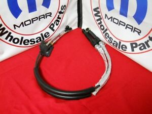 Dodge Chrysler Manual Trans Transmission Shifter Cable New Oem Mopar