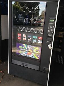 Automatic Products Combo Vending Machine Soda Snack Accepts Coins Bills