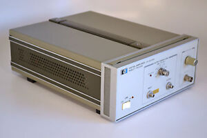 Agilent Hp 11975a Microwave Amplifier 2 0 To 8 0 Ghz Frequency Range