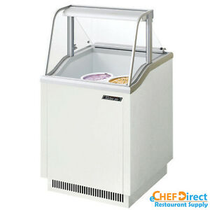 Turbo Air Tidc 26w n White Ice Cream Dipping Cabinets