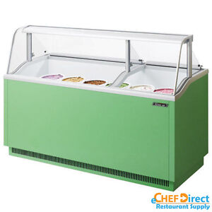 Turbo Air Tidc 70g n Green Ice Cream Dipping Cabinet