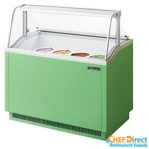Turbo Air Tidc 47g n Green Ice Cream Dipping Cabinet