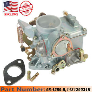 Carburetor Type Carter 1 Barrel For Ford Yf Mechanical Vacuum Choke 240 250 300