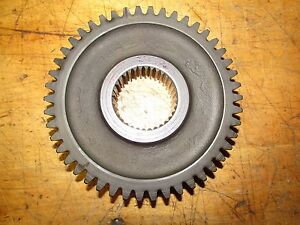 International 574 Tractor Syncro Mesh Transmission Gear 46 Tooth 34 Spline