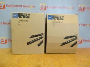 Gbc Combbinds 1 1 2 Binding Spines Comb 4200010 New