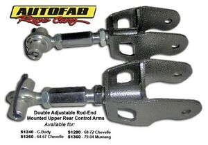 Autofab Race Cars s1260 64 67 Chevelle Upper Rear Control Arms