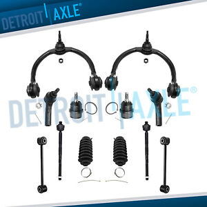 12pc Front Upper Control Arms Suspension Kit 05 10 Jeep Grand Cherokee Commander