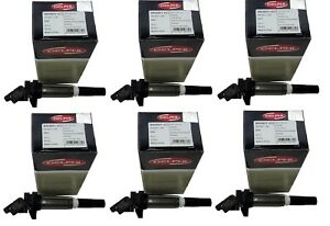 Set Of 6 Direct Ignition Coils Bmw For Models Equipped With Delphi Coils
