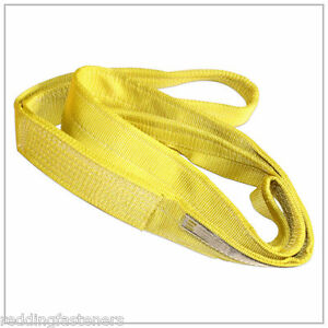 Liftex Ee292 2in X 12ft Polyester nylon Lifting Sling Strap 2 ply 12 Foot Usa