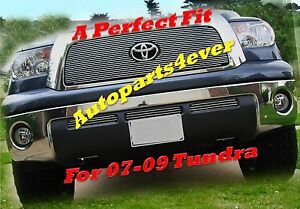 2007 07 08 09 2008 2009 Toyota Tundra Polished Billet Grille Grill 4pc Bolton