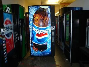 Vendo Multi Price Soda Vending Mach 12 16 20 Oz Pepsi coke 10 Selection