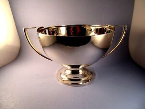Tiffany Co Sterling Silver Trophy Cup Bow Loving Cup