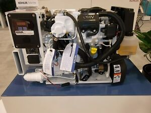 Kohler Marine Gasoline Generator 5ekd 5 Kw No Sound Shield Low Co