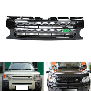 For Land Rover Lr3 discovery 2005 09 Car Part Front Hood Black Grill Grille