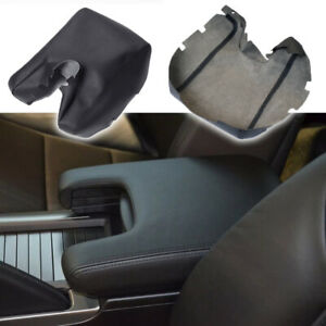 Fits Acura Tl 2009 2010 2011 2012 Leather Center Console Lid Armrest Cover Black