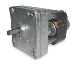 Dayton Model 1mbf8 Gear Motor 31 Rpm 1 112 Hp 115v old Model 2z809