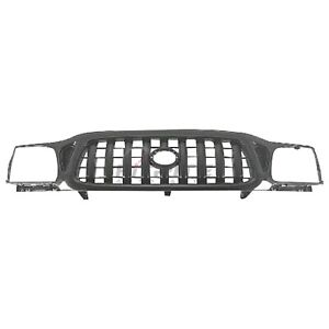 New Grille Black Finish For 2001 2004 Toyota Tacoma To1200250