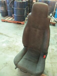 Jeep Wrangler Front Seat without Air Bags bucket manual Gray Cloth R 03