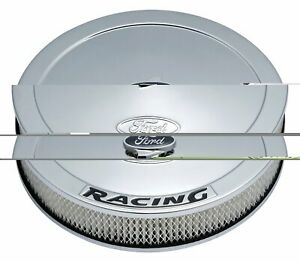 Ford Racing Proform Air Cleaner Kit Chrome With Black Lettering 302 351