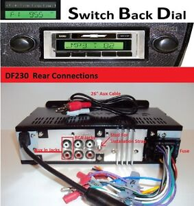 1973 86 Chevy Truck Am Fm Stereo Radio W Switch Back Am Dial See Inside 230dfb