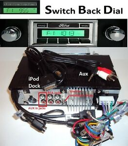 1980 86 Ford Truck Am Fm Stereo Radio W Switch Back Am Dial See Inside 630df2